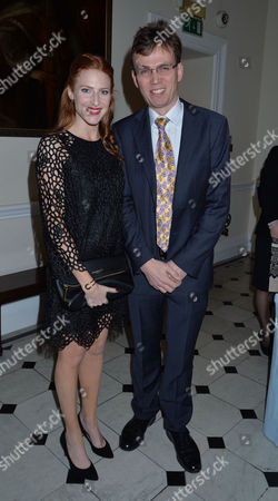 Stock Photo of Walpole Awards For Excellence 2013 at the Banqueting House Whitehall Westminster London Rosalie Graig & Samuel Adamson