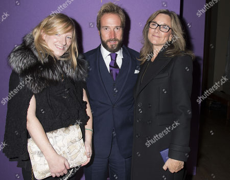 Walpole Awards For Excellence 2013 at the Banqueting House Whitehall Westminster London Sarah Burton Ben Fogle & Angela Ahrendts