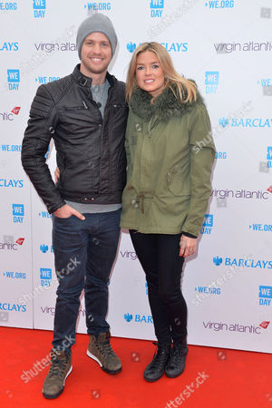 We Day Wembley Arena Sam Branson with His Wife Isabella Calthorpe