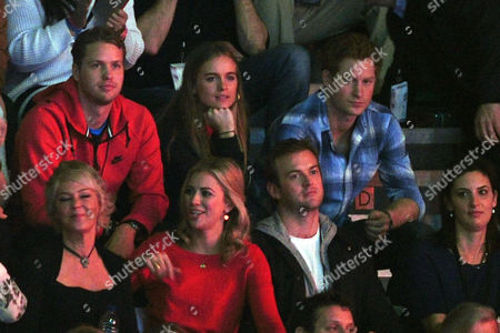 We Day Uk Audience at Wembley Arena Sam Branson Cressida Bonas and Harry Prince of Wales Holly Branson Fred Andrewes