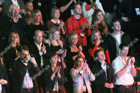 Stock Photo of We Day Uk Audience at Wembley Arena Richard Branson Joan Branson Isabella Calthorpe Sam Branson Cressida Bonas and Harry Prince of Wales Holly Branson Fred Andrewes Princess Beatrice of York and Dave Clark