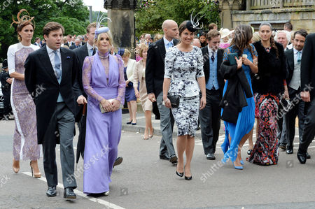 Wedding at Alnwick Northumberland Pippa Middleton and Saskia Boxford (r)
