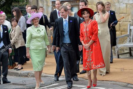 Editorial image of Wedding of Lady Melissa Percy and Thomas Van Straubenzee - 22 Jun 2013