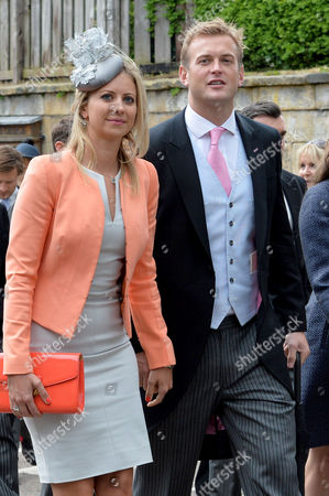 Editorial photo of Wedding of Lady Melissa Percy and Thomas Van Straubenzee - 22 Jun 2013