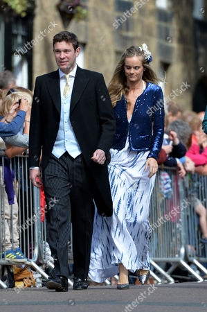 Wedding at Alnwick Northumberland Jack Brooksbank and Cressida Bonas
