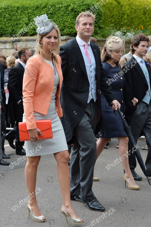 Stock Photo of Wedding at Alnwick Northumberland Holly Branson and Her Husband Fred Andrews