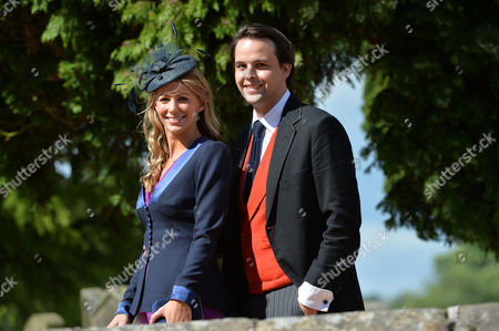 Wedding at Alnwick Northumberland Charlie Gilkes with His Wife Anneke Von Trotha Taylor