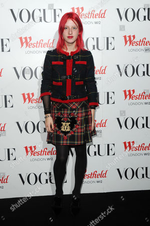 Stock Photo of Westfield London Celebrates 5th Birthday with the Vogue Pop-up Club Hannah Holman