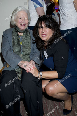 Stock Image of Woman of the Year Awards Lunch at the Intercontinental Hotel Pd James and E L James