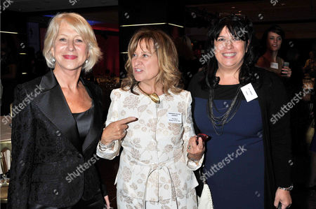 Woman of the Year Awards Lunch at the Intercontinental Hotel Dame Helen Mirren and Baroness Helena Kennedy with El James