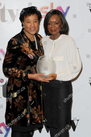 Women in Film and Television Awards 2013 at the Park Lane Hilton Baroness Scotland Presents Ronke Phillips with the Creative Skill Set Inspirational Woman Award
