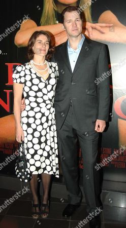 World Premiere of 'Basic Instinct 2' at the Vue Cinema Leicester Square David Morrissey with His Wife Esther Freud