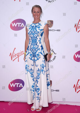 the Wta Pre-wimbledon Party Presented by Dubai Duty Free at Kensington Roof Gardens Vera Dushevina
