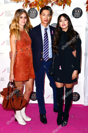 Stock Photo of You Big Beauty Weekend with Estee Lauder and Breast Cancer Awareness at Bloomsbury Square Jade Williams Nat Weller and Zara Martin