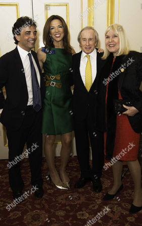 Communications Agency Bell Pottinger Host A Dinner and Auction Raising Over £60 000 in Aid of Charity Ôyouth at Risk' at Lancasterhouse St James Heather Kerzner Sir Jackie Stewart with His Wife Lady Helen Stewart and James Henderson