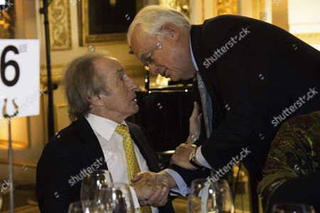 Communications Agency Bell Pottinger Host A Dinner and Auction Raising Over £60 000 in Aid of Charity Ôyouth at Risk' at Lancasterhouse St James Sir Jackie Stewart and Martyn Lewis
