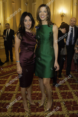 Communications Agency Bell Pottinger Host A Dinner and Auction Raising Over £60 000 in Aid of Charity 'Youth at Risk' at Lancasterhouse St James Katrina Sedley and Heather Kerzner