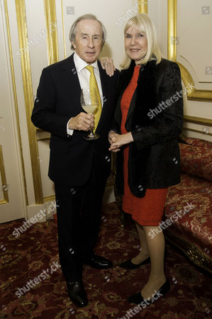 Stock Picture of Communications Agency Bell Pottinger Host A Dinner and Auction Raising Over £60 000 in Aid of Charity Ôyouth at Risk' at Lancasterhouse St James Sir Jackie Stewart with His Wife Lady Helen Stewart