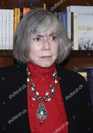 Stock Photo of Anne Rice