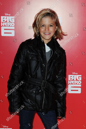 Stock Picture of 'Big Hero 6' Uk Gala at the Odeon Leicester Square Harry Hickles