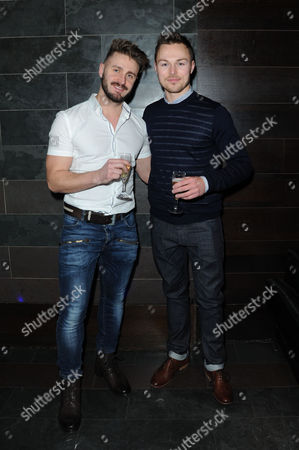 'My Night with Reg' Transfer Press Night at the Apollo Theatre and Afterparty at Mintleaf Haymarket Andrew Hayden-smith with His Boyfriend Addison White