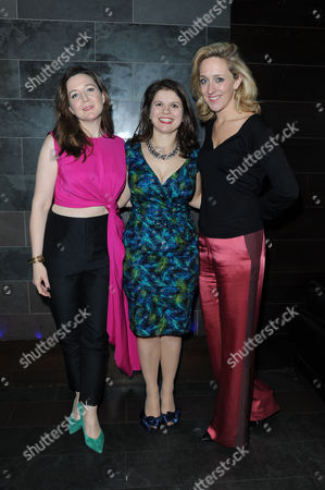'My Night with Reg' Transfer Press Night at the Apollo Theatre and Afterparty at Mintleaf Haymarket Josie Rourke Eleanor Lloyd and Kate Pakenham