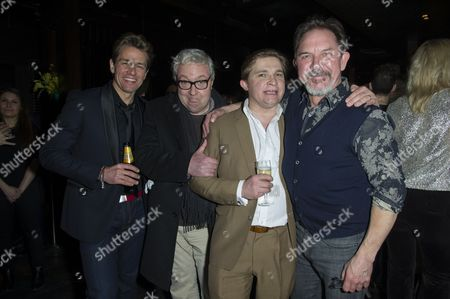 'My Night with Reg' Transfer Press Night at the Apollo Theatre and Afterparty at Mintleaf Haymarket Julian Ovenden John Sessions Jonathan Broadbent and David Bamber
