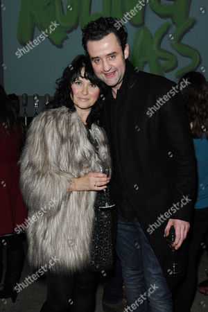'The Ruling Class' Press Night at the Bankside Vaults Blackfriars Daniel Mays with His Wife Louise Burton