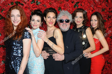 'Women On the Verge of A Nervous Breakdown' Press Night at the Playhouse Theatre and Afterparty at Horseguards Hotel Willemijn Verkaik Seline Hizli Tamsin Greig Pedro Almodovar Haydn Gwynne and Anna Skellern