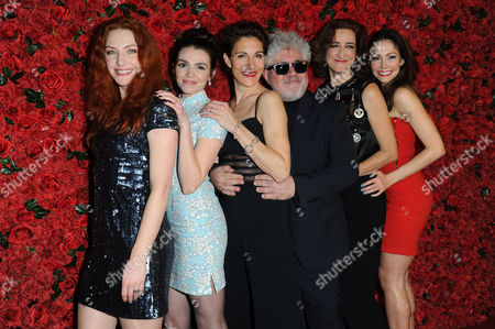Stock Photo of 'Women On the Verge of A Nervous Breakdown' Press Night at the Playhouse Theatre and Afterparty at Horseguards Hotel Willemijn Verkaik Seline Hizli Tamsin Greig Pedro Almodovar Haydn Gwynne and Anna Skellern