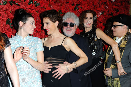 'Women On the Verge of A Nervous Breakdown' Press Night at the Playhouse Theatre and Afterparty at Horseguards Hotel Seline Hizli Tamsin Greig Pedro Almodovar Haydn Gwynne and Anna Skellern