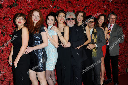 'Women On the Verge of A Nervous Breakdown' Press Night at the Playhouse Theatre and Afterparty at Horseguards Hotel Sarah Moyle Willemijn Verkaik Seline Hizli Tamsin Greig Pedro Almodovar Haydn Gwynne David Yazbek Anna Skellern and Bartlett Sher
