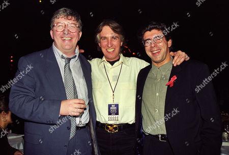 The 1994 Brit Awards Held at Alexandra Palace Simon Bates Johnnie Walker and Greg Davies
