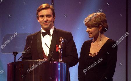 The 1994 Brit Awards Held at Alexandra Palace John Mccarthy and Jill Morrell