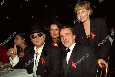 The 1994 Brit Awards Held at Alexandra Palace Van Morrison John Mccarthy Michelle Rocca and Jill Morrell