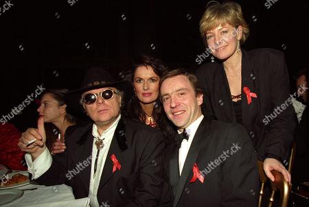 The 1994 Brit Awards Held at Alexandra Palace Van Morrison John Mccarthy Michelle Rocca and Jill Morrell
