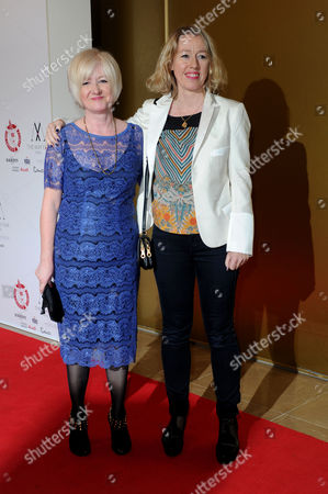 35th London Critic's Circle Film Awards at the Mayfair Hotel Debbie Gray and Elaine Constantine