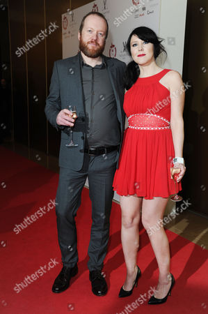 35th London Critic's Circle Film Awards at the Mayfair Hotel Hosts Steve Oram and Alice Lowe