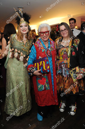 in A Twist On Its Famous Bright Young Things Initiative Selfridges Celebrates Talent and Creativity in Older Generations with the Launch Today of Bright Old Things Which Will Be Running Until the End of February 2015 Anne Sophie Cochevelou Sue Kreitzman and Diane Goldie