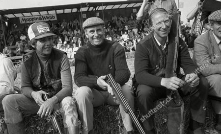 August 1980 Charity Clay Pigeon Shoot Jack Charlton