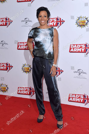 'Dad's Army' World Premiere at Odeon Leicester Square Dame Kelly Holmes