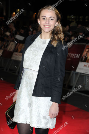 Mortdecai Uk Film Premiere at the Empire Leicester Square Hannah Witton