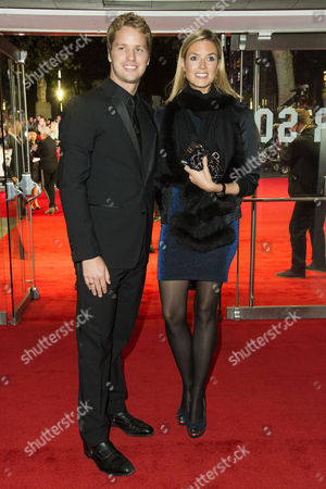'Steve Jobs' Bfi London Film Festival Closing Gala at Odeon Leicester Square Sam Branson with His Wife Isabella Calthorpe