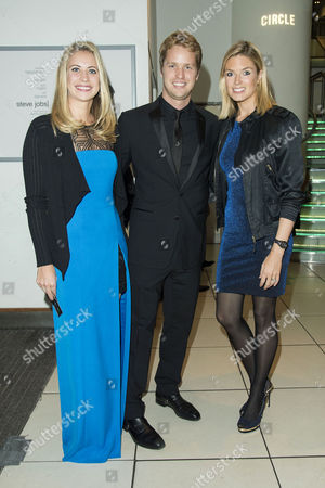 'Steve Jobs' Bfi London Film Festival Closing Gala at Odeon Leicester Square Holly Branson with Her Brother Sam Branson with His Wife Isabella Calthorpe
