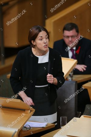 Kezia Dugdale MSP, Leader of the Scottish Labour Party, and Colin Smyth