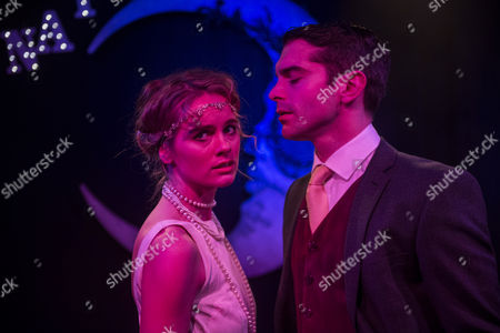 Cressida Bonas who plays Daisy with Ludovic Hughes as Jay Gatsby