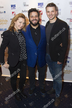 Elise Audeyev, Nathan Amzi and Richard Southgate
