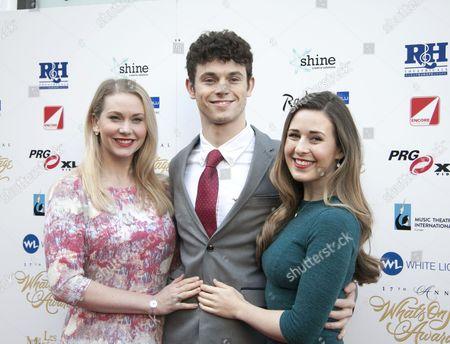 Stock Picture of Emma Williams, Charlie Stemp, Devon-Elise Johnson
