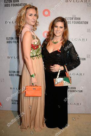 Safia El Malqui and Francesca Versace