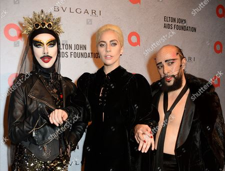 Xtravaganza, Lady Gaga and Lyall Hakaraia